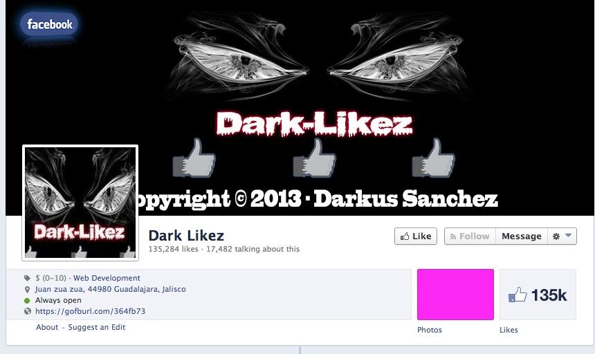 Étude de cas d'une invasion de faux fans Facebook