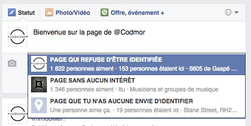 """La solution INFAILLIBLE pour """"tagger"""" une page non-coopérative sur Facebook (MIS À JOUR)"""