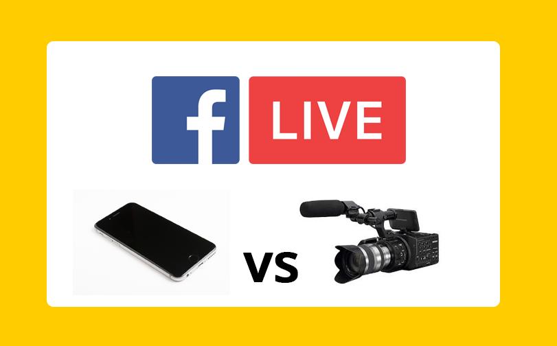 Facebook Live: Le faire soi-même ou travailler avec une équipe de production?