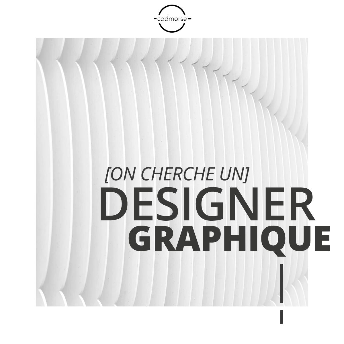 Emploi: Designer Graphique